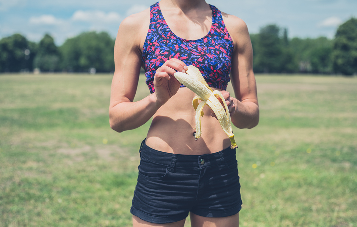Why You Should Eat A Banana Before Your Next Workout