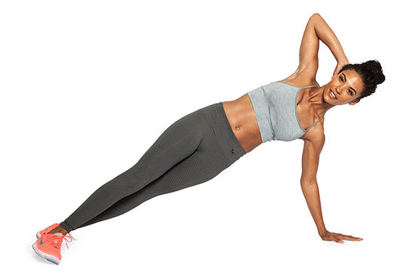 Rotational Side Plank