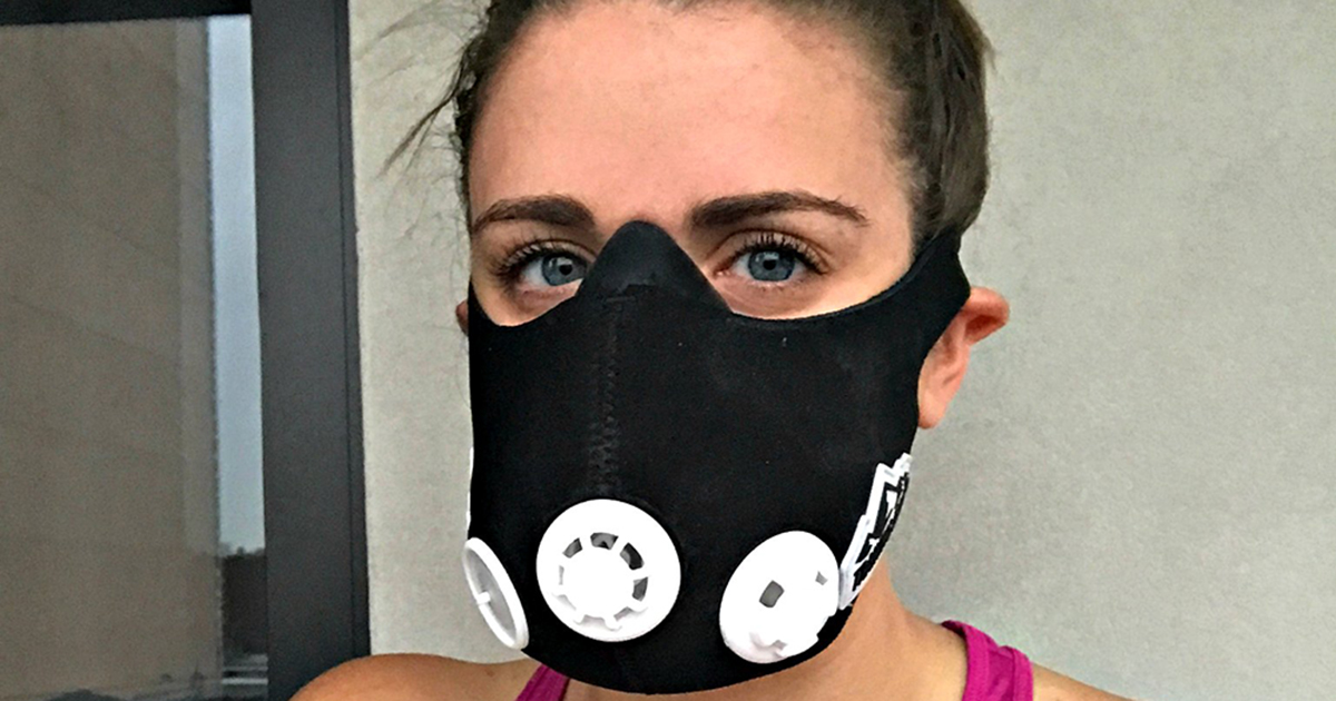 What It's Like to Wear an Altitude Training Mask While You ...