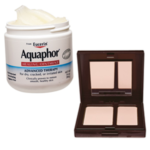 Aquaphor and Laura Mercier