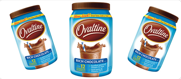 Kristen Bell's Ovaltine as multivitamins
