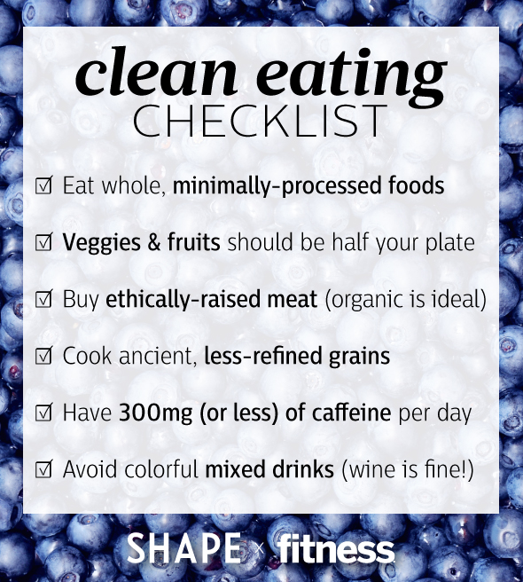 Clean Eating Tips & Recipes for Healthy Diet You Can Sustain ...