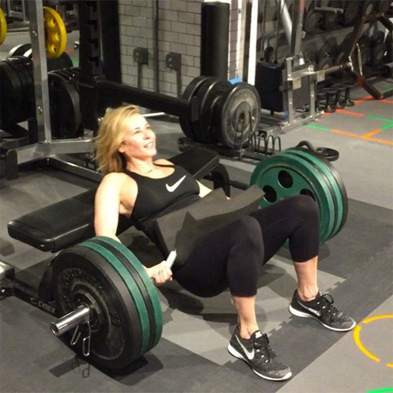 Chelsea Handler Shows Off Her Hip Thrusters | Shape Magazine