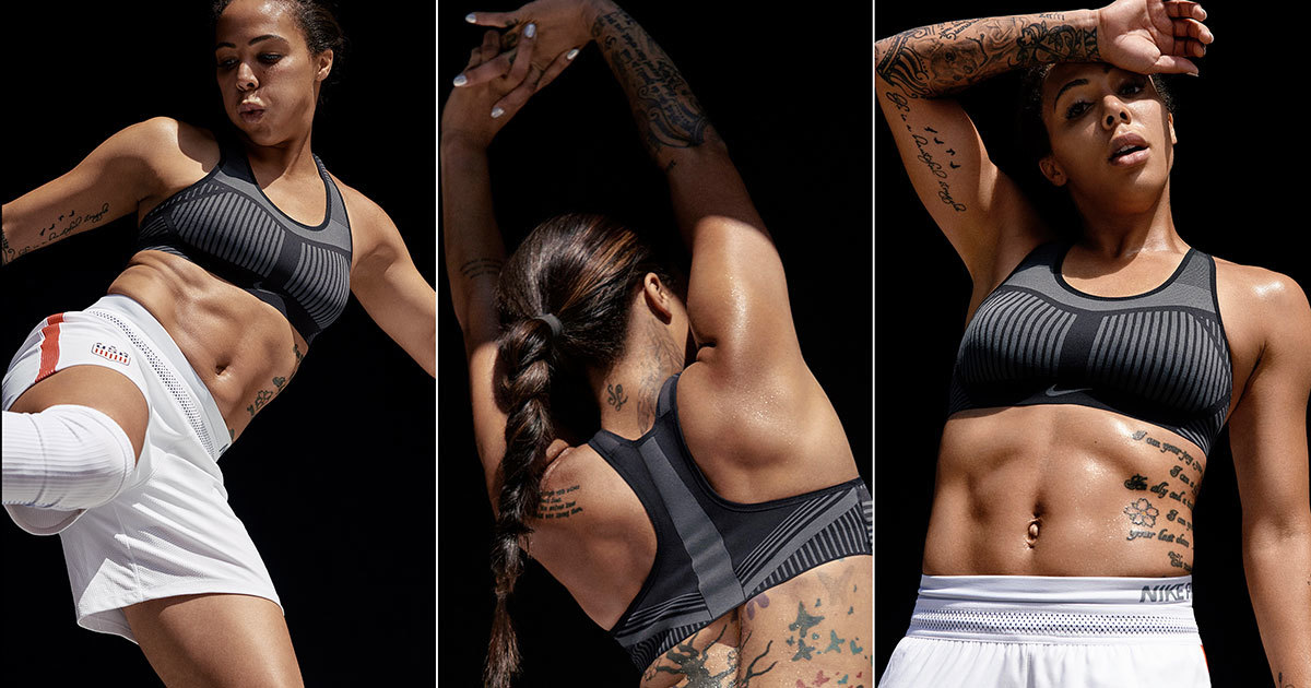 Nike Uses Heat Maps To Develop New Flyknit Sports Bra