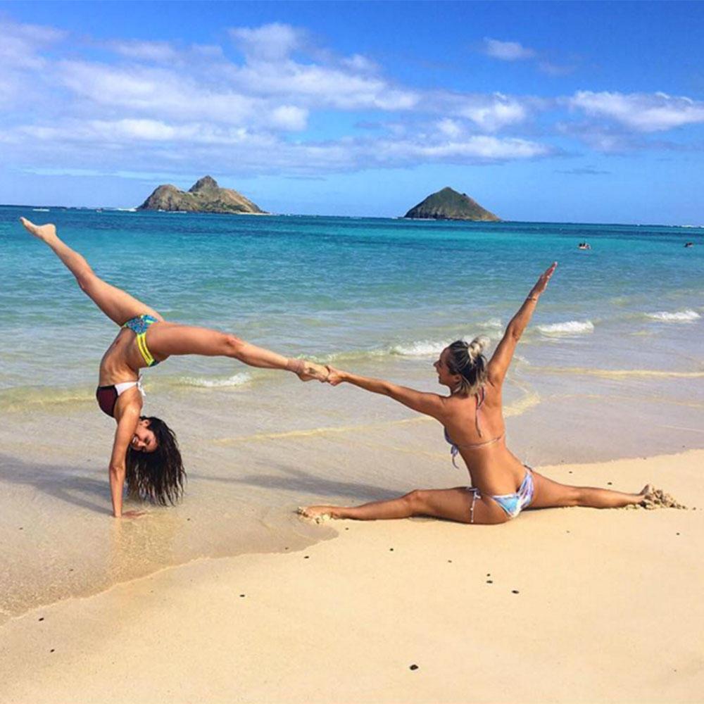 The Best Instagram Photos of Celebrities in Yoga Poses ...