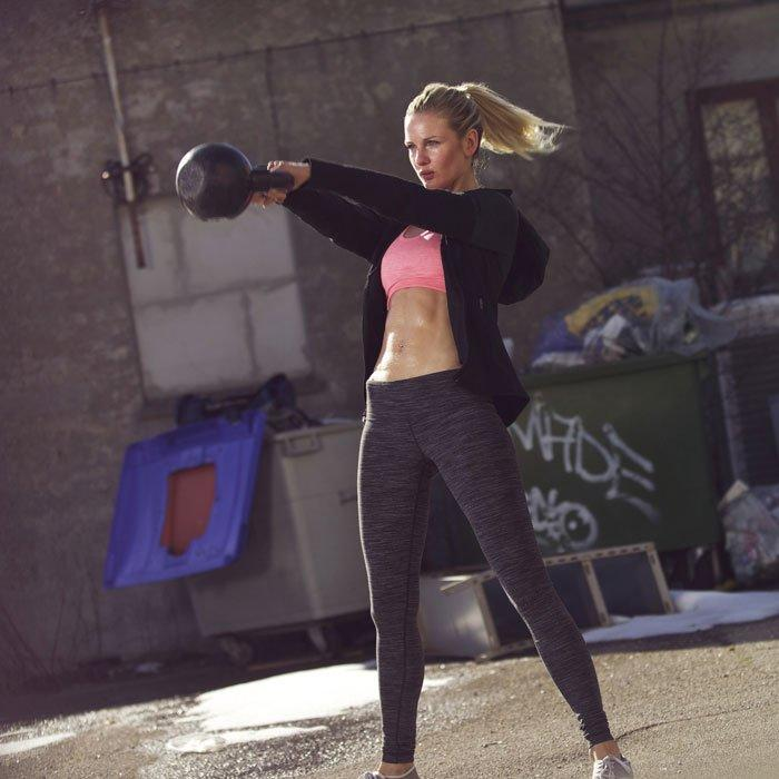 New Kettlebell Exercises For Your Workout Routine: Kettlebell Workout: 7 Full Body Exercises To Burn Fat In