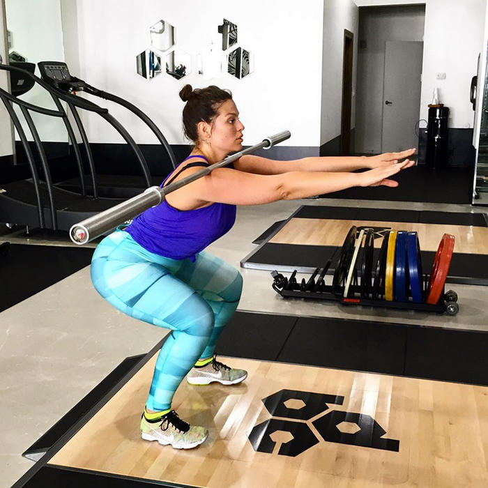 12 Fitspo Instagram Posts from Plus-Size Model Ashley ...