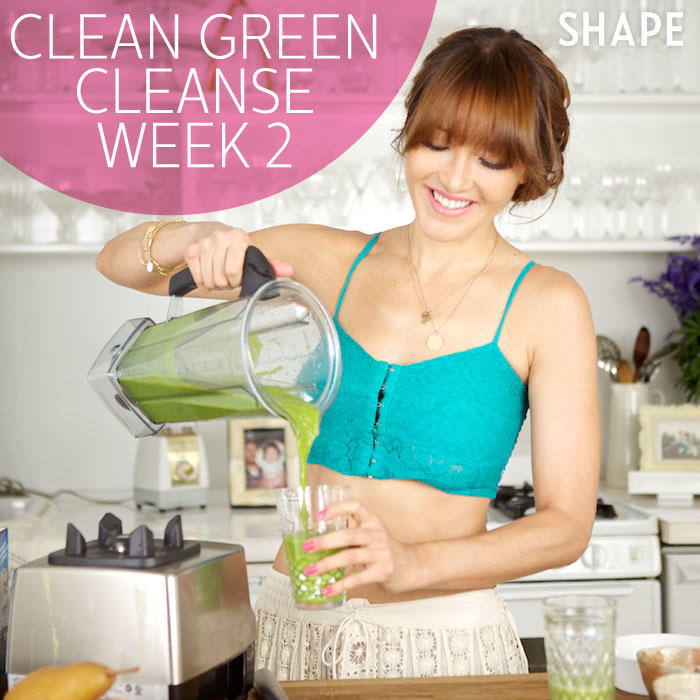 clean eating meal plan with green smoothie recipes shape magazine. Black Bedroom Furniture Sets. Home Design Ideas