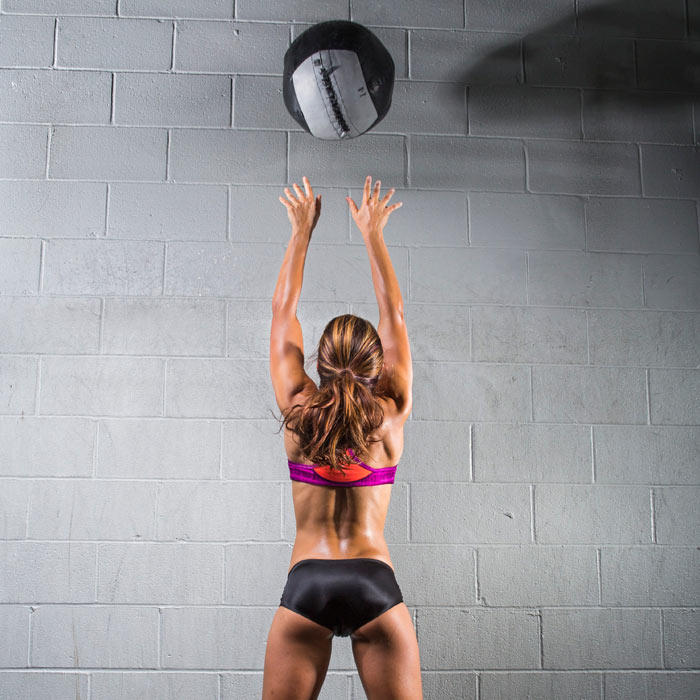 Building Muscle Medicine Ball