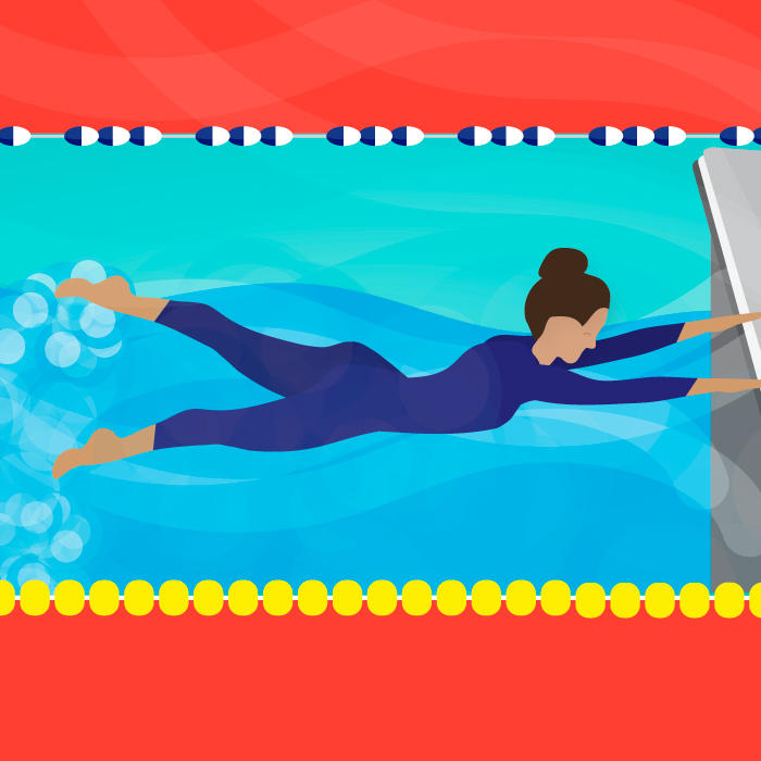 A Fun Swim Workout For Core Strength Muscle Tone Shape Magazine