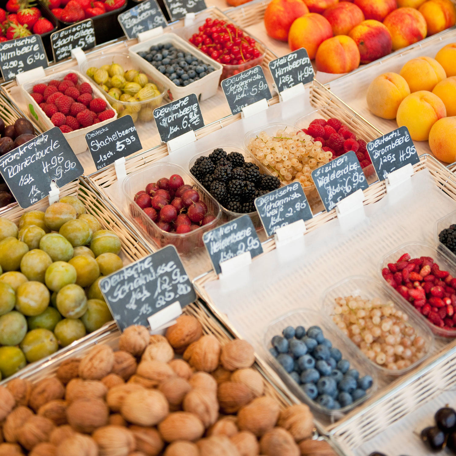 Fresh Produce: Healthy Fruits & Vegetables In Season For