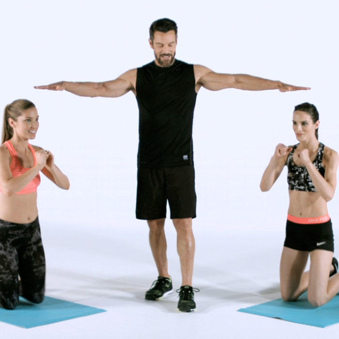 tony horton 39 s full body workout routine for a beach body shape magazine. Black Bedroom Furniture Sets. Home Design Ideas