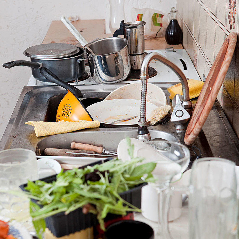 Messy Work Kitchen: Can A Cluttered Kitchen Make You Fat?