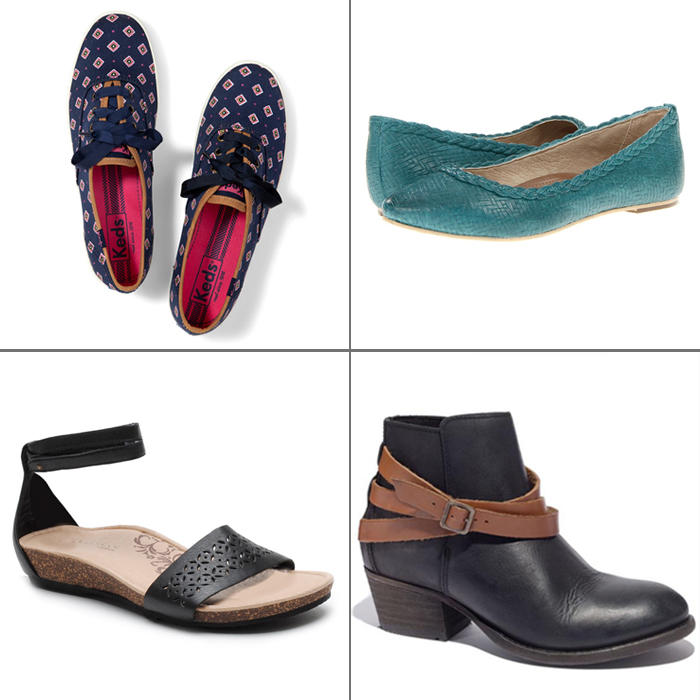 stylish and comfortable shoes for shape magazine