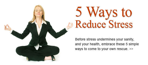 3 ways to reduce stress Modern life is incredibly stressful all of our wonderful technological gadgetry is supposed to make life easier, but instead you are caught in some strange loop.