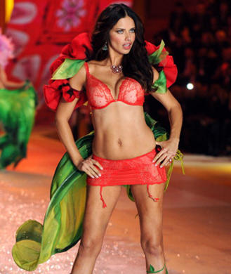 How Adriana Lima Got in Shape for the Victoria's Secret ...