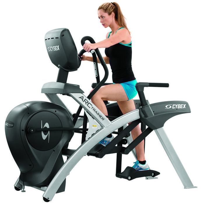 Gym Workouts: Cybex Arc Trainer Cardio Interval Training