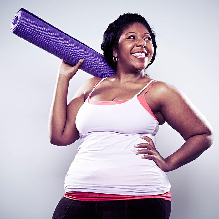 "Yoga: Inside the New ""Fat Yoga"" Class for Plus Size Women ..."