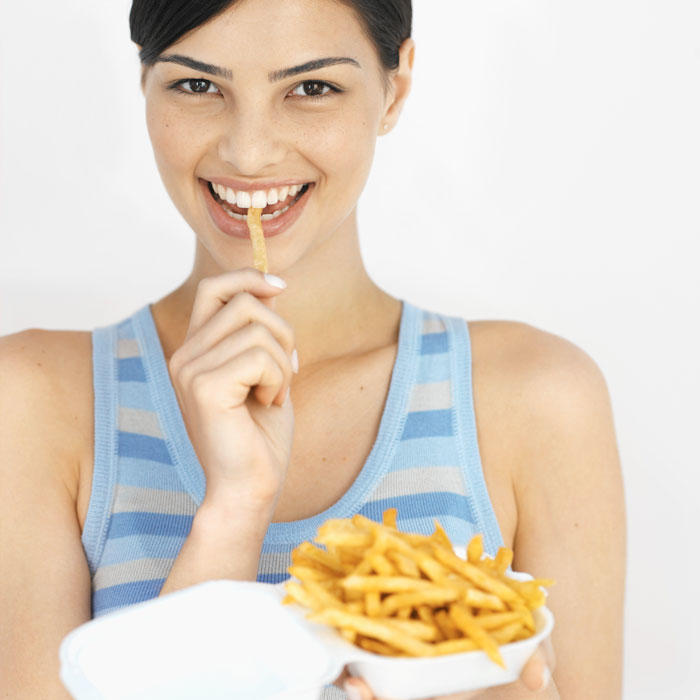 Unhealthy Foods Nutritionists Eat Shape Magazine