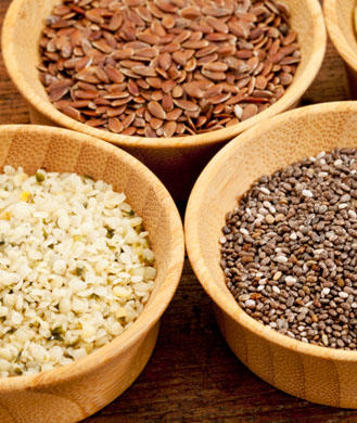 Flaxseeds, Chia Seeds, and Hemp Seeds: Health Benefits and ...