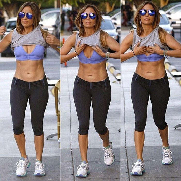 Jennifer Lopez Is Khloé Kardashian's Fitness Motivation ...