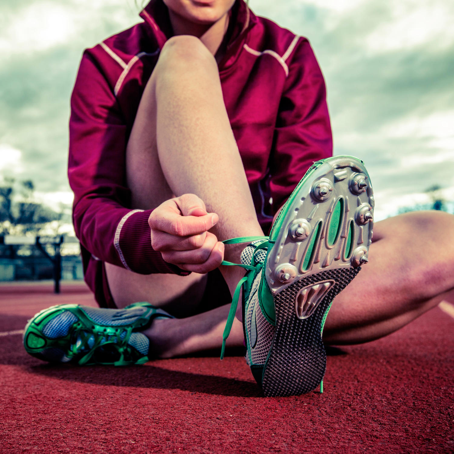 A Runner Shapes Up A Tired Staircase: Runner's Dilemma: Old Running Shoes Vs. Cross Trainers