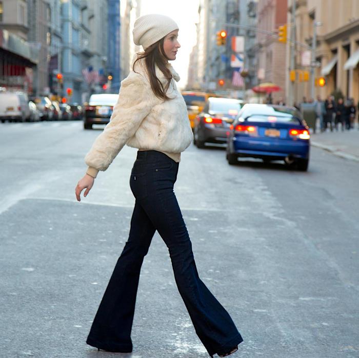 Latest Fashion Trends: Wide Leg Jeans Like Bell Bottoms   Shape ...