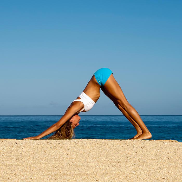 Yogi Gifs Illustrating Smooth Transitions Between Yoga