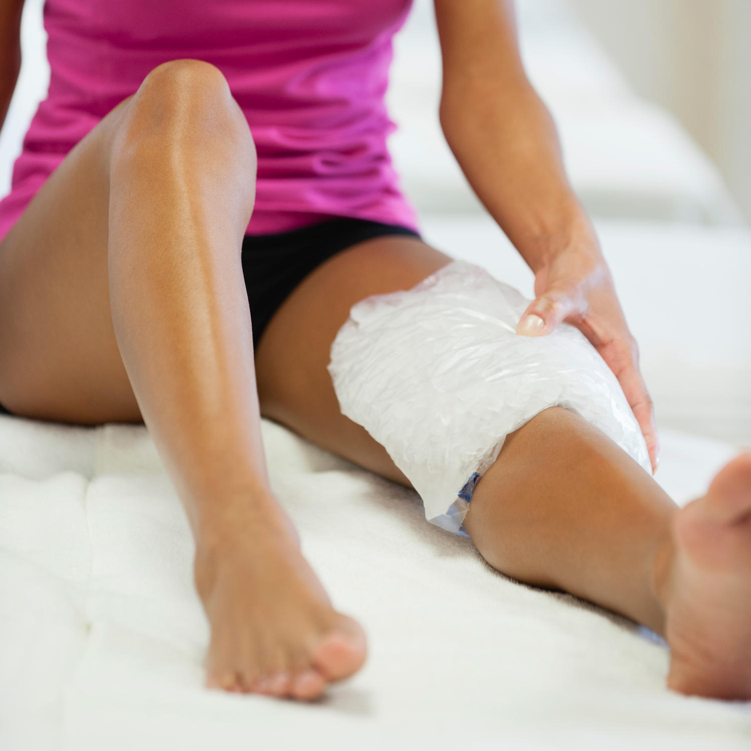 Sports Injuries: Does Ice Really Help A Muscle Strain Heal