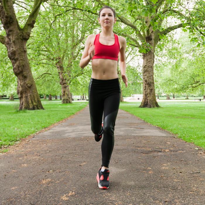 Running woman gif