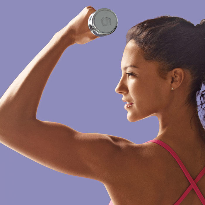 how to lose arm and shoulder fat
