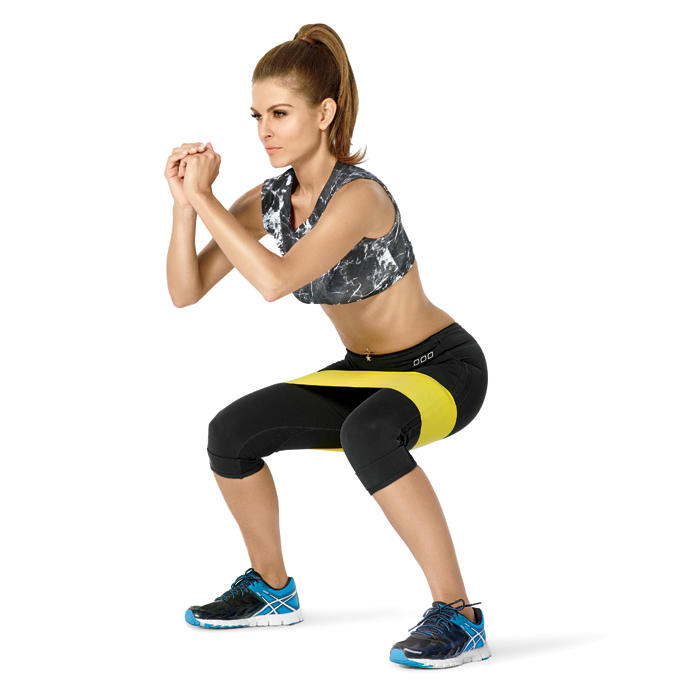 Workout Bands That Won T Break: Maria Menounos Strength Training Exercises: Resistance
