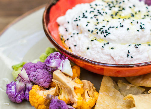 This Cauliflower Hummus Is the Dip Recipe You Never Knew You Needed