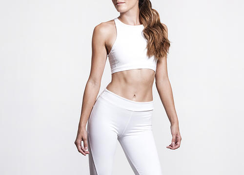 White Hot Workout Clothes