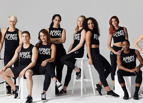 This New SoulCycle Campaign Is Spreading Love Through Sweat and Tap Backs