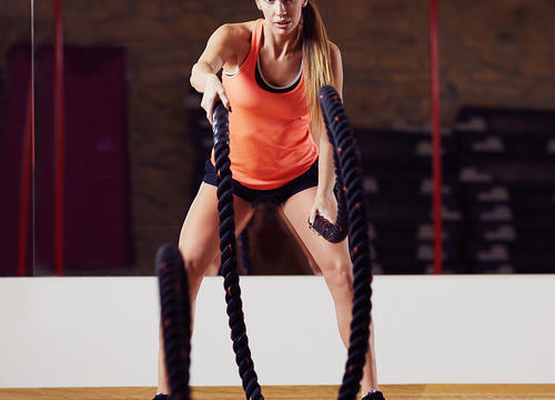8 Battle Rope Exercises Anyone Can Do