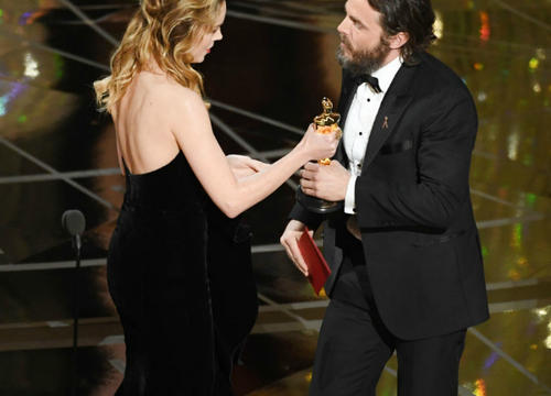 Why Brie Larson Didn't Applaud for Casey Affleck After His Oscar Win