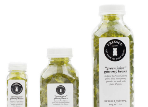 "Sugarfina and Pressed Juicery Have Teamed Up to Make ""Green Juice"" Gummy Bears"