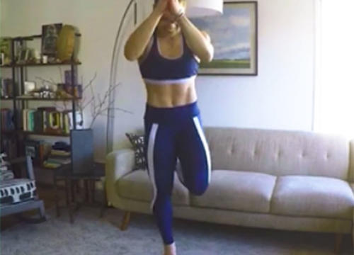 This Kitchen Pot Tabata Workout Proves You Can Find Exercise Equipment Anywhere