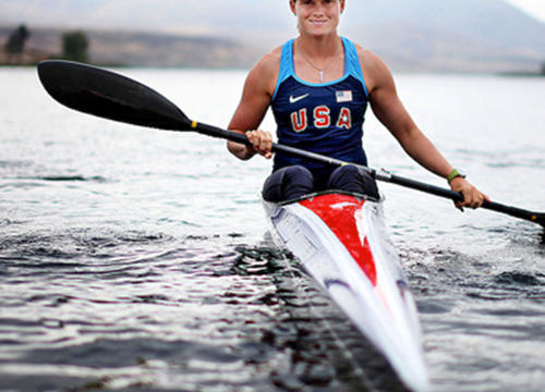 The Kayaker Repping the U.S. Olympic Team All On Her Own