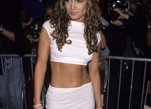 The 25 Best J.Lo Ab-Baring Outfits, Ranked