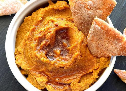 "Pumpkin Hummus Is the Best Way to Eat Fall's ""It"" Food"