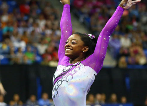 Simone Biles' Flawless Floor Routine Will Get You Amped for Rio