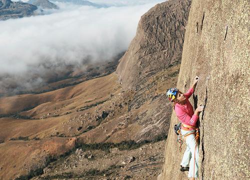Sasha DiGiulian Makes History As the First Woman to Conquer 700-Meter Mora Mora Climb