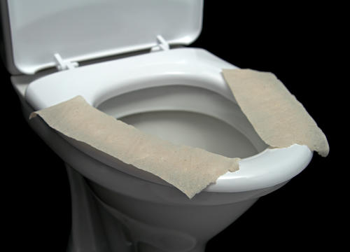 Toilet Seat Covers Don't Actually Protect You from Germs and Bacteria