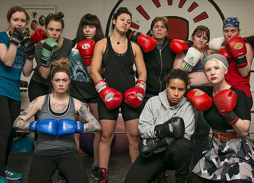 "A ""Pro-Rape"" Men's Meeting Just Got Busted Up By An All-Girl Boxing Club"