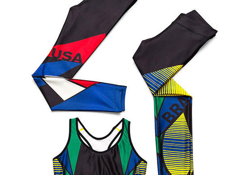 Olympic-Inspired Workout Clothes That Are Anything But Cheesy