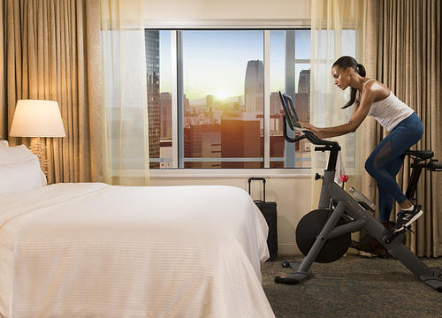 Westin Guests Can Soon Take Spin Classes from Their Hotel Rooms