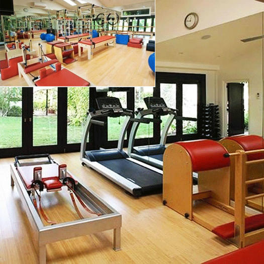 pictures of celebrity home gyms | shape magazine