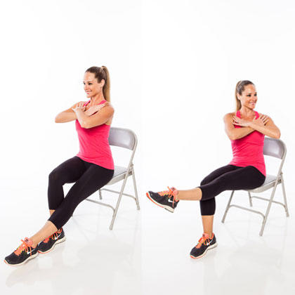 picture How to Do the Pilates Chest Lift